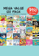 Mega Value Sale Pack - 120 Assorted picture books