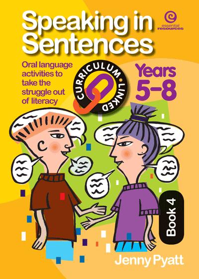 Speaking in Sentences Bk 4 (Ys 5-8) Cover
