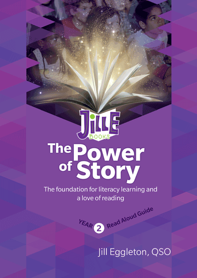 The Power of Story - Read Aloud Guide, Year 2 Cover