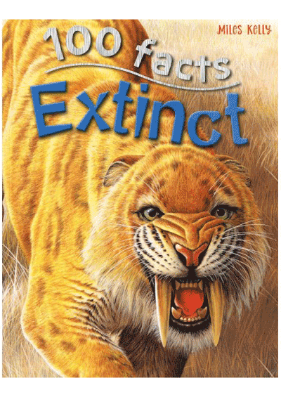 100 Facts - Extinct Cover