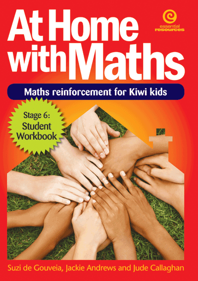 At Home with Maths - Reinforcement for Kiwi kids (Stg 6) Cover
