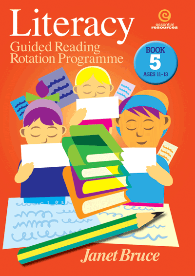Literacy: Guided Reading Programme Bk 5 Cover