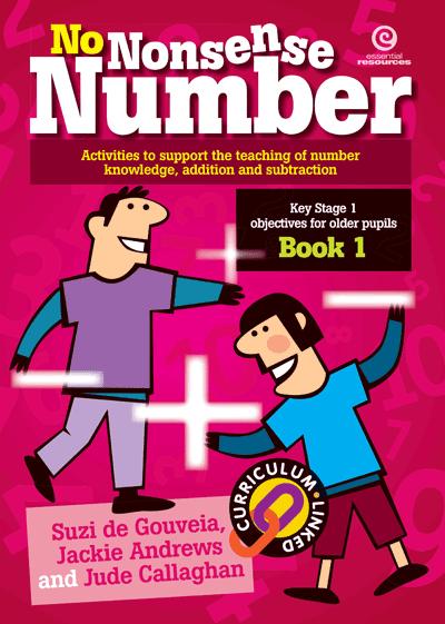 No Nonsense Number: KS 1 for older pupils Bk 1 Cover