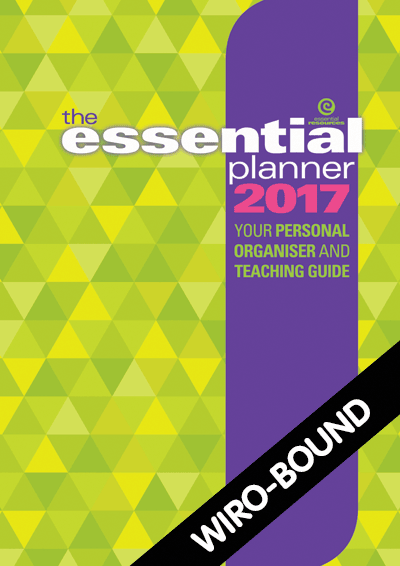 The Essential Planner 2017 Wiro-bound Cover