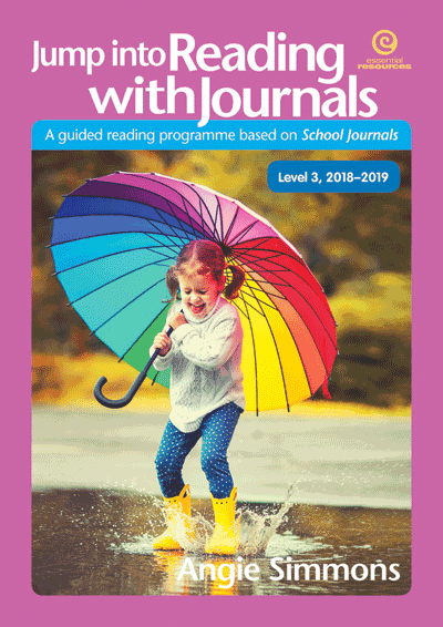 Jump into Reading with Journals (Level 3), 2018-19 Cover