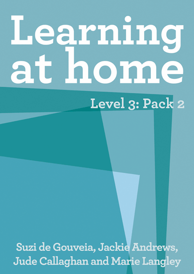 Learning at Home – Level 3: Pack 2 Cover