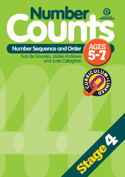 Number Counts: Sequence and order (Stage 4) Cover