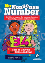 No Nonsense Number: Stage 3 Bk A