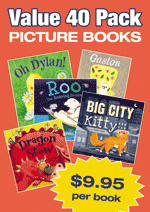 Fiction Variety Pack – 40 assorted picture books