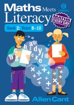 Maths Every Day: Maths Meets Literacy Bk 2 Yrs 8-10