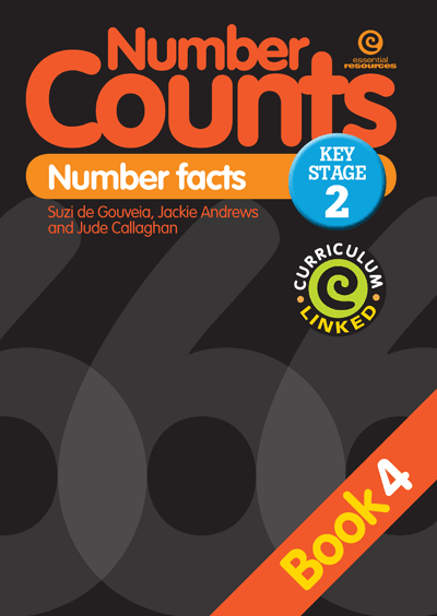 Number Counts: Number facts (KS2) Bk 4 Cover