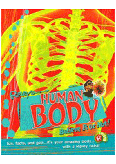 Ripley's Twists - Human Body Believe It or Not! Cover